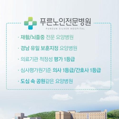 푸른노인전문병원 소개서 앨범 바로가기