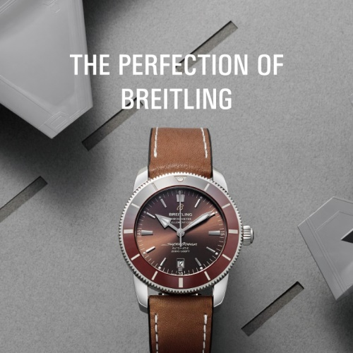 THE PERFECTION OF BREITLING 앨범 바로가기